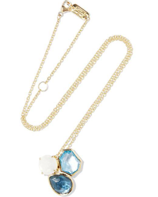 Ippolita | Metallic Rock Candy 18-karat Gold Multi-stone Necklace | Lyst