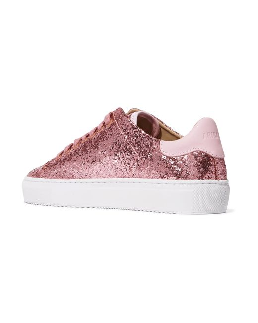 Clean 90 Glittered Leather Sneakers - Antique rose Axel Arigato sdokw1