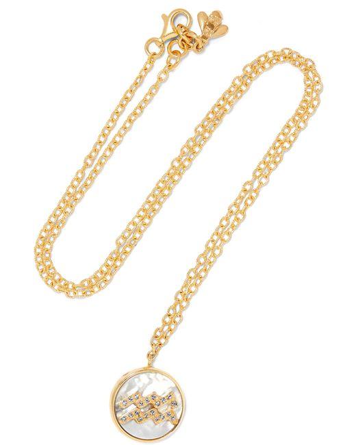 Carolina Bucci | Metallic Aquarius Lucky 18-karat Gold Multi-stone Necklace | Lyst