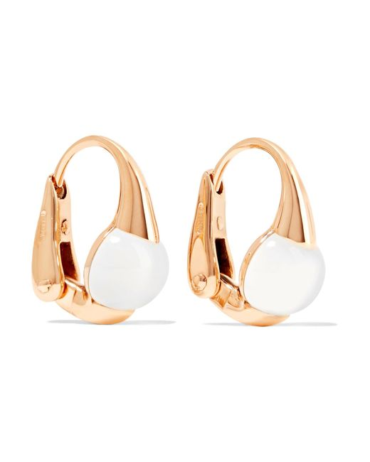 Pomellato | Metallic M'ama Non M'ama 18-karat Gold Topaz Earrings | Lyst