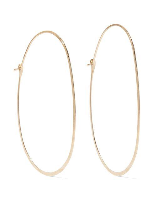 Melissa Joy Manning   Metallic 14-karat Gold Hoop Earrings   Lyst