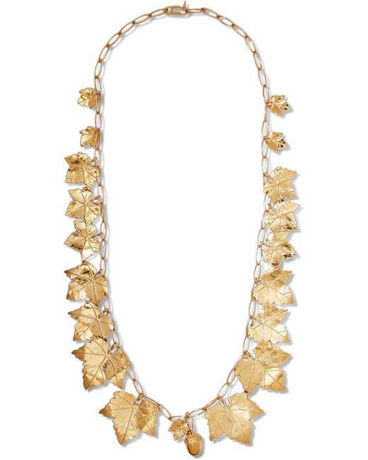 Aurelie Bidermann | Metallic Vitis Gold-tone Necklace | Lyst