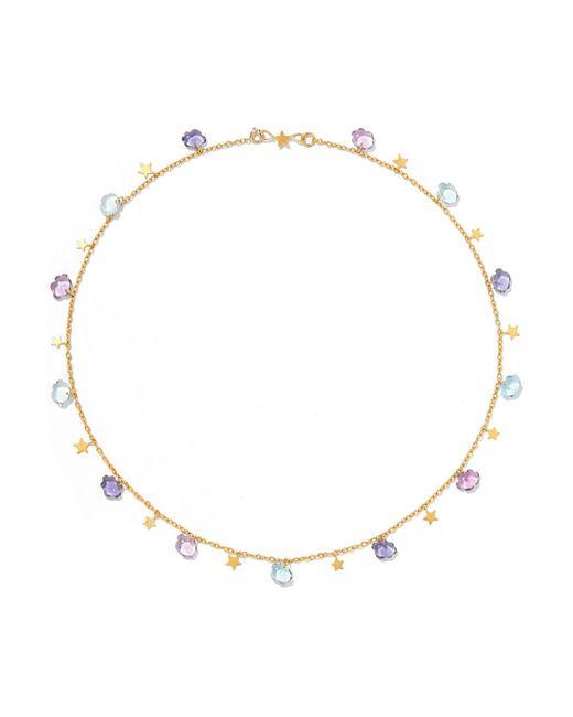 Marie-hélène De Taillac | Metallic Cloudy Night 22-karat Gold Multi-stone Necklace | Lyst