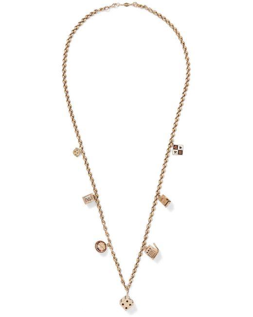 Fred Leighton | Metallic 20th Century 14-karat Gold Enameled Necklace | Lyst