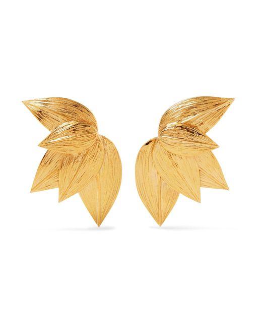 Meadowlark - Metallic Gold-plated Earrings - Lyst