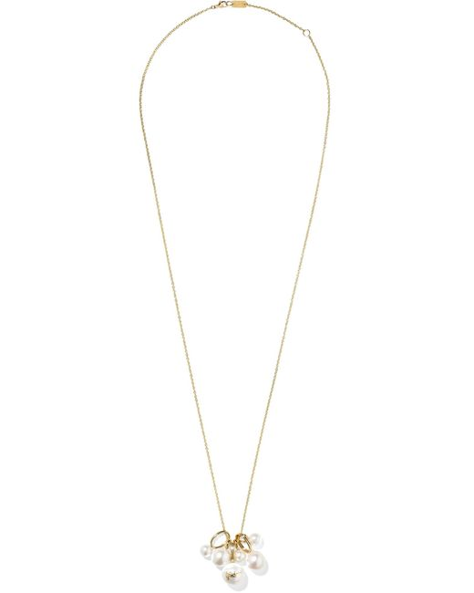 Ippolita - Metallic Nova 18-karat Gold Pearl Necklace - Lyst