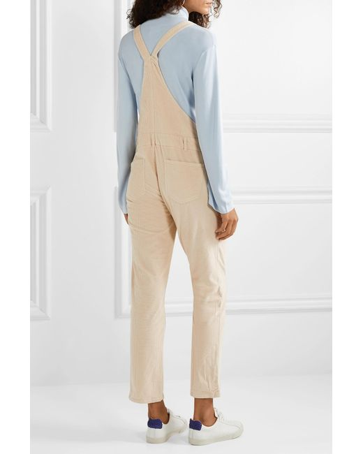 a79ce0627a59 ... HATCH - White The Cord Cotton-blend Corduroy Overalls - Lyst ...