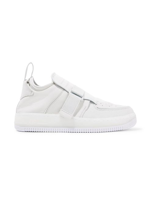 Nike - White The 1's Reimagined Air Force 1 Explorer Xx Suede And Leather  Sneakers ...