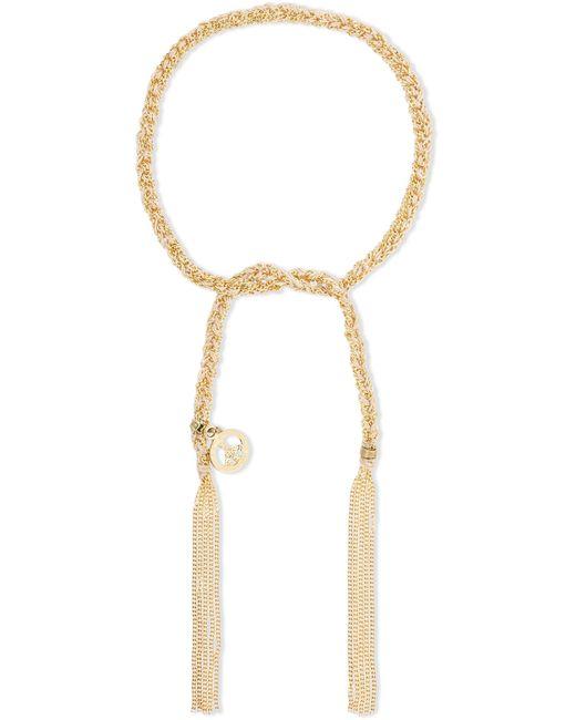 Carolina Bucci   Metallic Peace Lucky 18-karat Gold And Silk Bracelet   Lyst