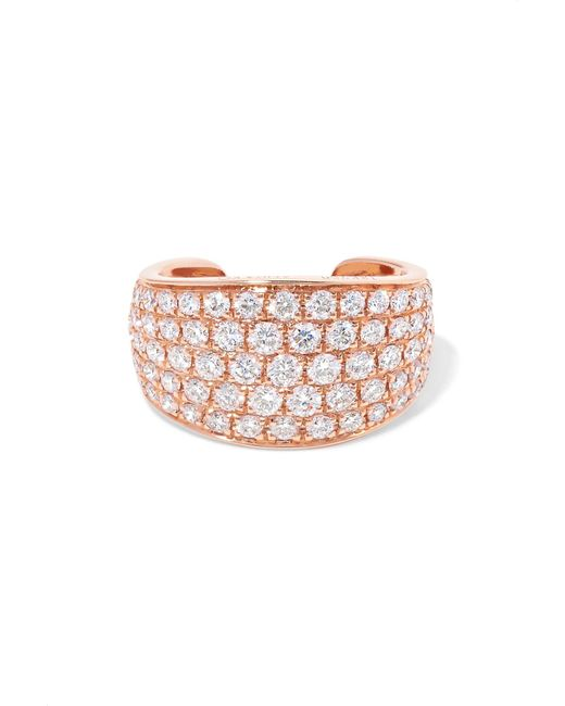 Anita Ko - Multicolor Galaxy 18-karat Rose Gold Diamond Ear Cuff - Lyst