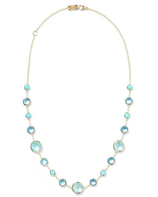 Ippolita - Metallic Lollipop Lollitini 18-karat Gold Multi-stone Necklace - Lyst