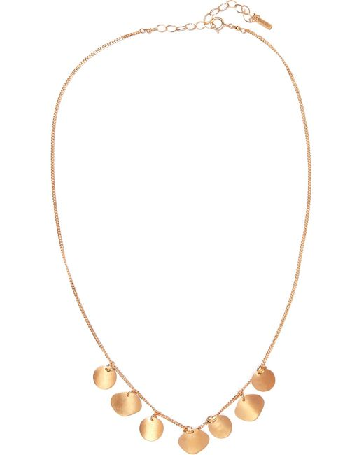 Chan Luu - Metallic Gold-plated Necklace - Lyst