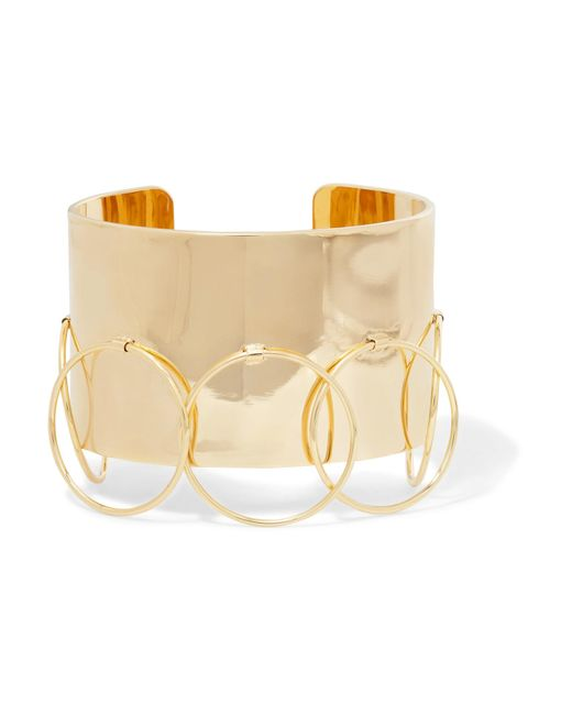 Arme De L'Amour | Metallic Halo Gold-plated Cuff | Lyst