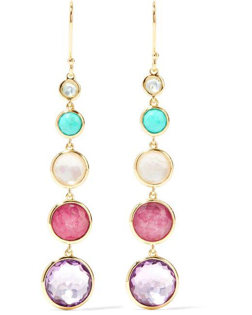 Ippolita | Metallic Lollipop Lollitini 18-karat Gold Multi-stone Earrings | Lyst