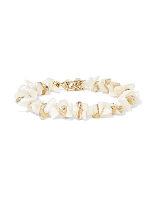 Rosantica - Metallic Gold-tone Mother-of-pearl Bracelet - Lyst