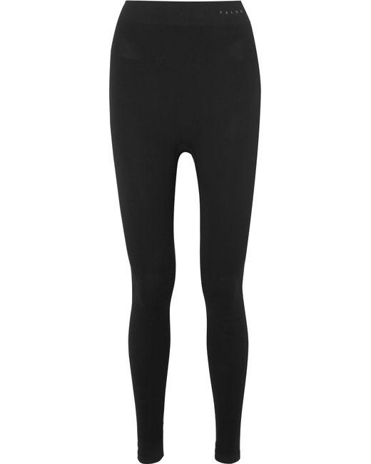 cdb1668da Lyst - Falke Stretch-knit Leggings in Black - Save 12%