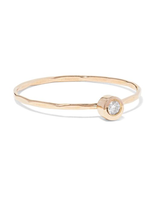 Melissa Joy Manning | Metallic 14-karat Gold Diamond Ring | Lyst
