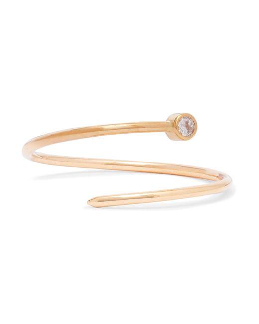 Beaufille - Metallic Pistol 10-karat Gold Diamond Ring - Lyst