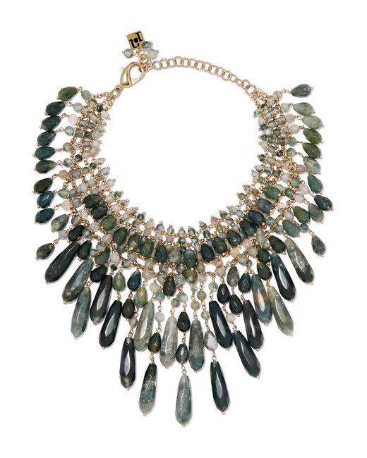 Rosantica - Green Rifugio Gold-tone Agate Necklace - Lyst