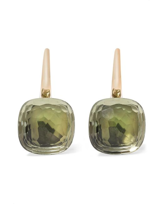 Pomellato - Metallic Nudo Classic 18-karat Rose Gold Prasiolite Earrings - Lyst