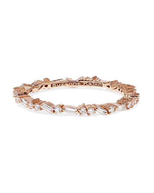 Suzanne Kalan 18-karat Rose Gold Diamond Ring fNnI9ti1e