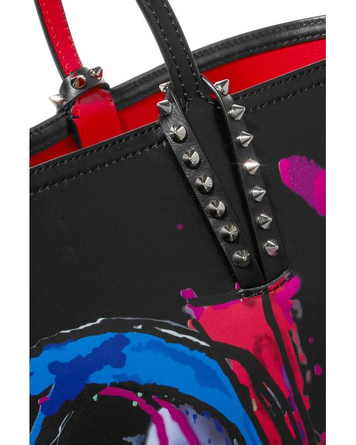 bd910beffb7 Christian Louboutin Cabata Love Tote Bag in Black - Save 45% - Lyst