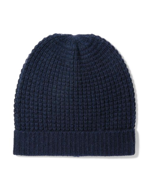 Madeleine Thompson - Blue Holby Waffle-knit Cashmere Beanie - Lyst