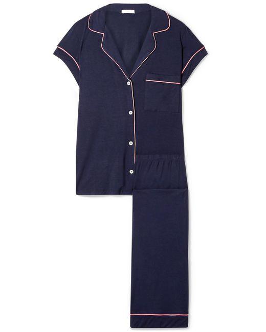 Eberjey - Blue Gisele Stretch-modal Jersey Pajama Set - Lyst