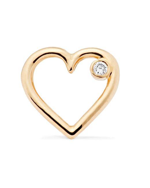 Aurelie Bidermann   Metallic Merveilles Gold Diamond Earring   Lyst