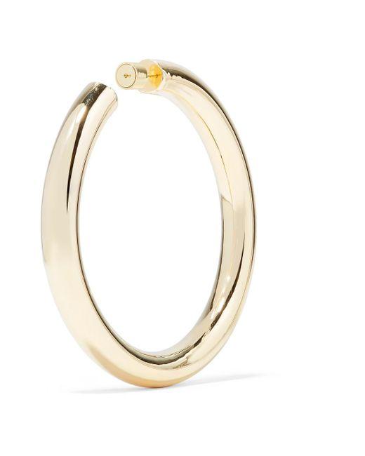 Jennifer Fisher Mamma Jamma Gold-plated Hoop Earrings bLUq8OJWrT