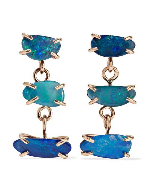 Melissa Joy Manning | Metallic 14-karat Gold Opal Earrings | Lyst