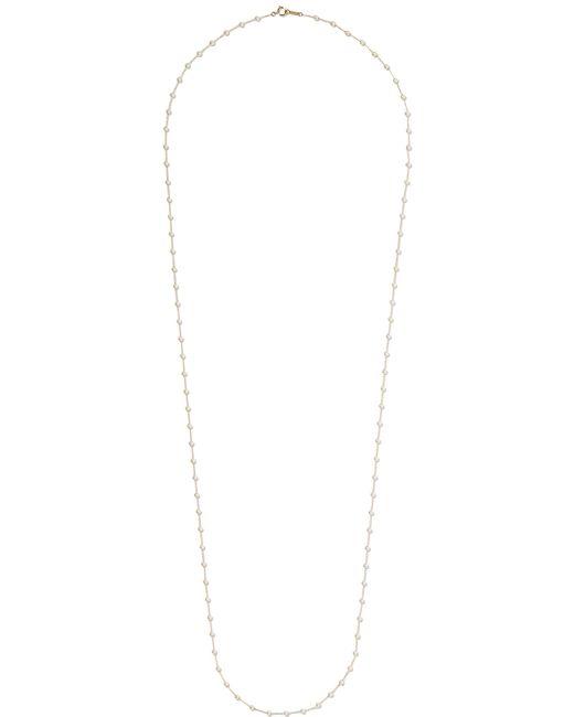 Mizuki - Metallic 14-karat Gold Pearl Necklace - Lyst