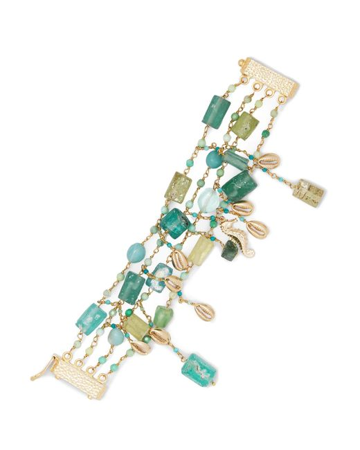Rosantica | Metallic Chela Gold-tone Quartz Bracelet | Lyst