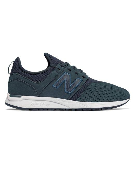 New Balance - Blue Nubuck 247 - Lyst