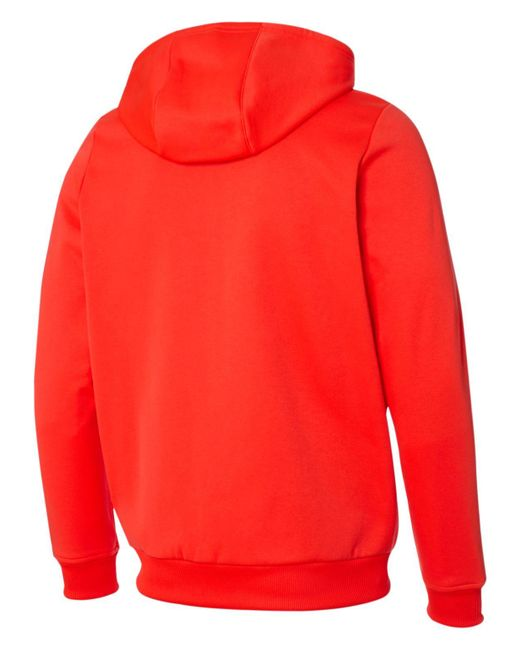 lfc new balance red hoodie