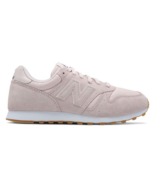 New Balance - Pink 373 Suede for Men - Lyst