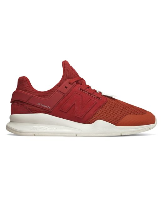d957f8a9af5f4 New Balance New Balance 247 Time Zone Shoes in Red for Men - Save 50 ...