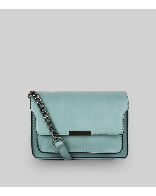 New Look | Blue Chain Structured Shoulder Bag | Lyst
