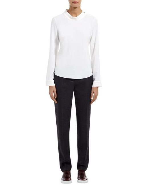 Nicole Farhi | Black The Soft Suiting Trouser for Men | Lyst