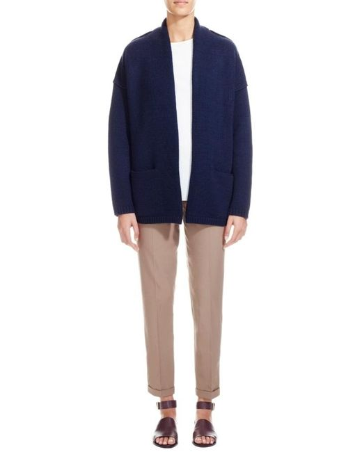 Nicole Farhi | Blue The Fletcher Cardigan | Lyst
