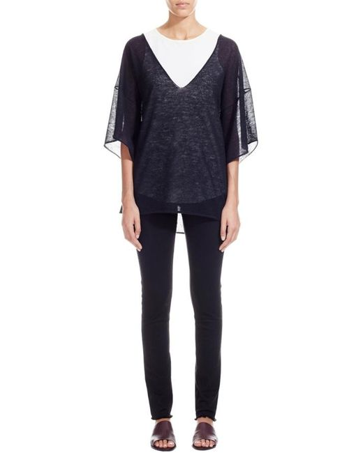 Nicole Farhi | Black The Feldman Tunic | Lyst