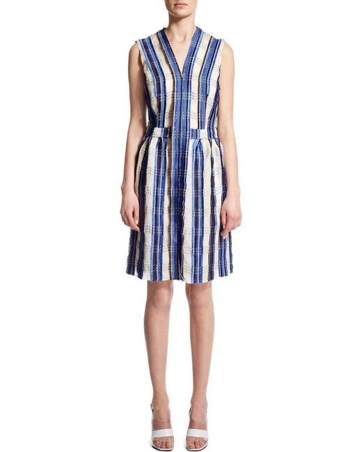 Nicole Farhi | Blue Check Dress | Lyst