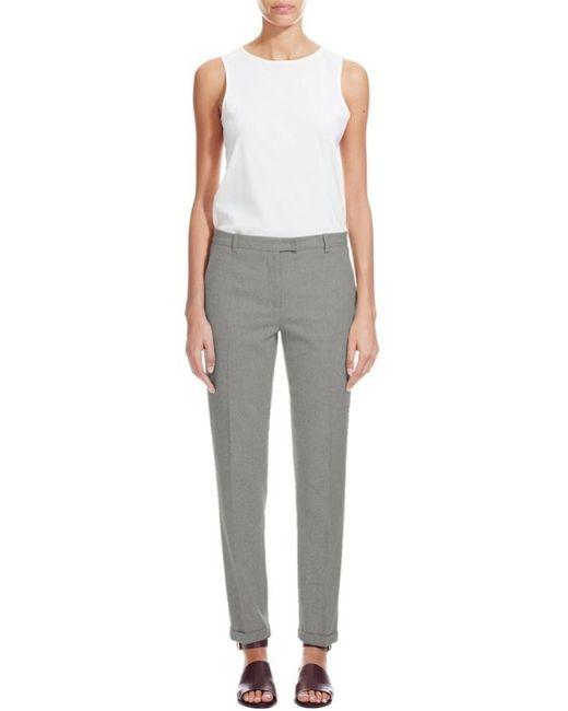 Nicole Farhi | Gray The Brancusi Trouser | Lyst