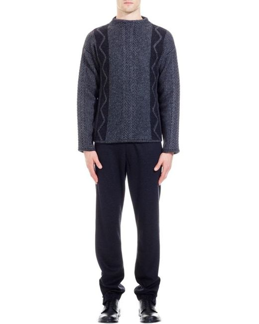 Nicole Farhi | Gray The Hus Jumper for Men | Lyst