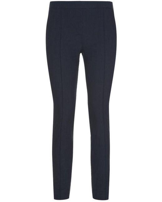 Nicole Farhi | Blue Orchid Cropped Trouser | Lyst