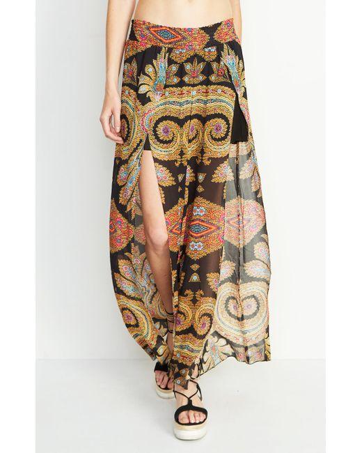 Nicole Miller | Multicolor Beach Blanket Pants | Lyst