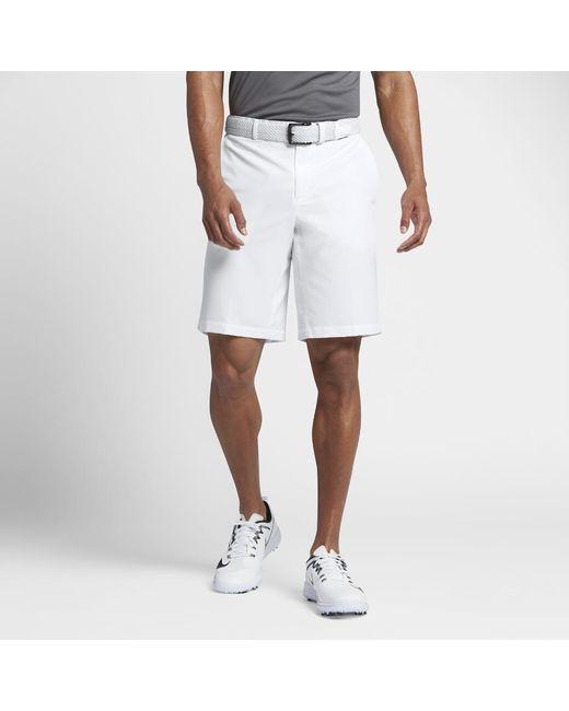 539e44f00958 Lyst - Nike Flex Hybrid Men s Standard Fit Golf Shorts in White for Men