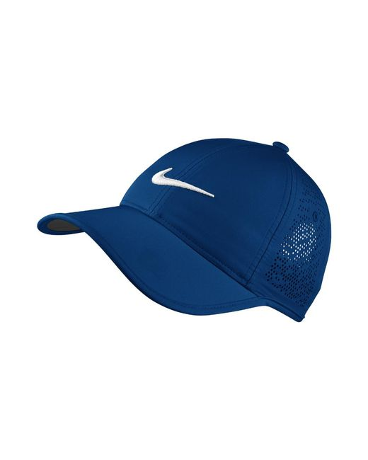 Nike | Perforated Women's Adjustable Golf Hat (blue) | Lyst
