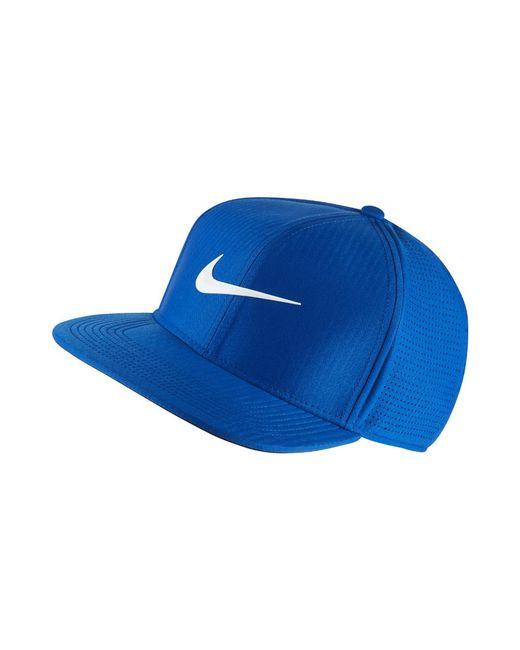 37ebfc72d46 Nike - Aerobill Adjustable Golf Hat (blue) - Clearance Sale for Men - Lyst