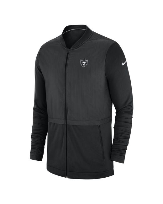 7c59819eeed6 Lyst - Nike Elite Hybrid (nfl Raiders) Men s Full-zip Jacket in ...